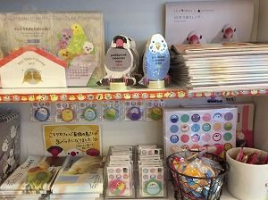 小鳥カフェ心斎橋店の物販