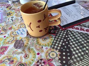 うさぎとcafeのウーロン茶