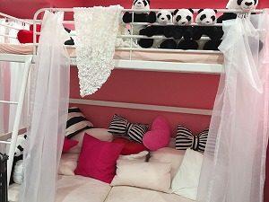 よしはらパンダのベッド