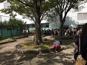 ナゴレプの待機列の様子